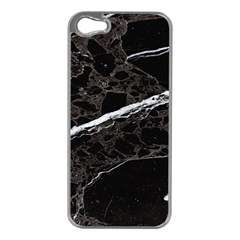 Marble Tiles Rock Stone Statues Apple Iphone 5 Case (silver)