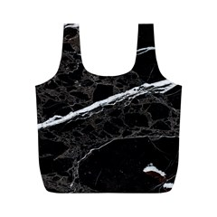 Marble Tiles Rock Stone Statues Full Print Recycle Bags (m)  by Simbadda