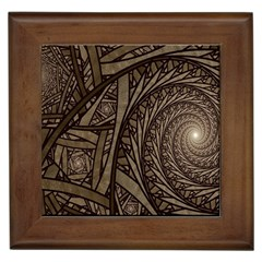 Abstract Pattern Graphics Framed Tiles