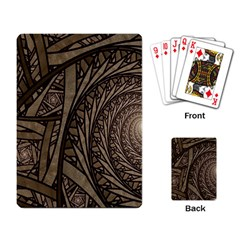 Abstract Pattern Graphics Playing Card