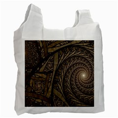 Abstract Pattern Graphics Recycle Bag (two Side)