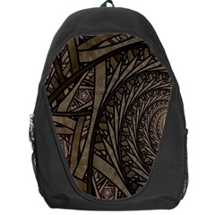 Abstract Pattern Graphics Backpack Bag