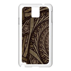 Abstract Pattern Graphics Samsung Galaxy Note 3 N9005 Case (white)