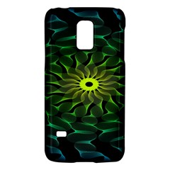 Abstract Ribbon Green Blue Hues Galaxy S5 Mini
