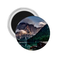 Italy Mountains Pragser Wildsee 2 25  Magnets