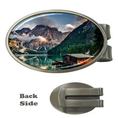 Italy Mountains Pragser Wildsee Money Clips (oval)