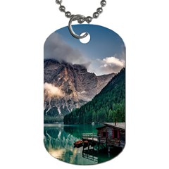 Italy Mountains Pragser Wildsee Dog Tag (two Sides)