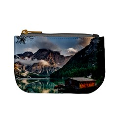 Italy Mountains Pragser Wildsee Mini Coin Purses