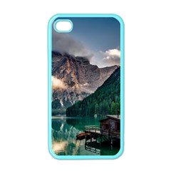 Italy Mountains Pragser Wildsee Apple Iphone 4 Case (color)