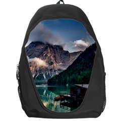 Italy Mountains Pragser Wildsee Backpack Bag