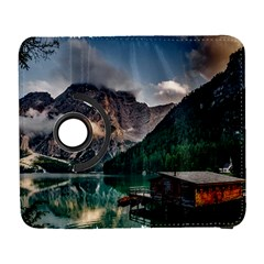 Italy Mountains Pragser Wildsee Galaxy S3 (flip/folio)
