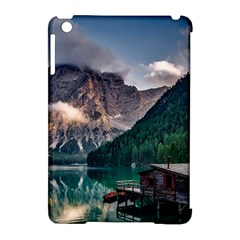 Italy Mountains Pragser Wildsee Apple Ipad Mini Hardshell Case (compatible With Smart Cover) by Simbadda