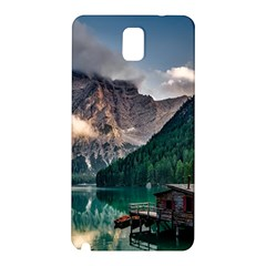 Italy Mountains Pragser Wildsee Samsung Galaxy Note 3 N9005 Hardshell Back Case