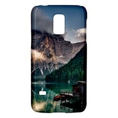 Italy Mountains Pragser Wildsee Galaxy S5 Mini by Simbadda