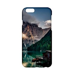 Italy Mountains Pragser Wildsee Apple Iphone 6/6s Hardshell Case