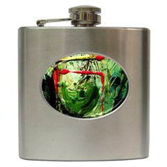 Continental Breakfast 6 Hip Flask (6 Oz) by bestdesignintheworld