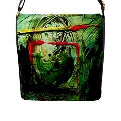 Continental Breakfast 6 Flap Messenger Bag (l)  by bestdesignintheworld