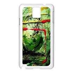 Continental Breakfast 6 Samsung Galaxy Note 3 N9005 Case (white)