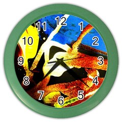 Drama Color Wall Clocks