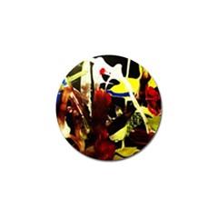 Drama 5 Golf Ball Marker (4 Pack) by bestdesignintheworld