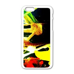 Drama 2 Apple Iphone 6/6s White Enamel Case by bestdesignintheworld