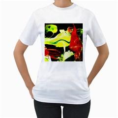 Drama 1 Women s T Shirt (white) (two Sided)