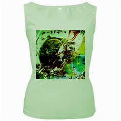 Doves Matchmaking 8 Women s Green Tank Top