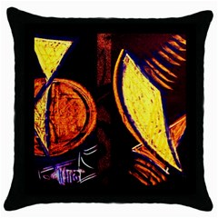 Cryptography Of The Planet Throw Pillow Case (black)