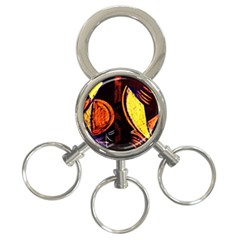 Cryptography Of The Planet 3 Ring Key Chains