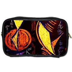 Cryptography Of The Planet Toiletries Bags 2 Side