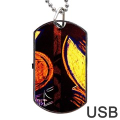 Cryptography Of The Planet Dog Tag Usb Flash (two Sides) by bestdesignintheworld