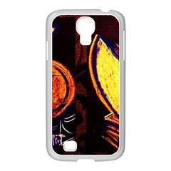 Cryptography Of The Planet Samsung Galaxy S4 I9500/ I9505 Case (white)
