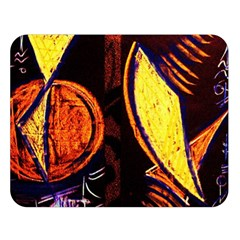 Cryptography Of The Planet Double Sided Flano Blanket (large)