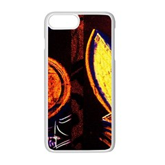 Cryptography Of The Planet Apple Iphone 8 Plus Seamless Case (white)
