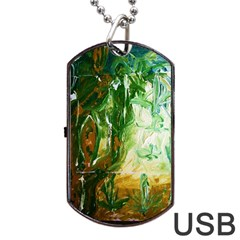 Close To Pinky,s House 11 Dog Tag Usb Flash (one Side)
