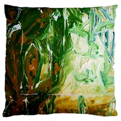 Close To Pinky,s House 11 Large Cushion Case (one Side)