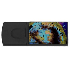Blue Options 5 Rectangular Usb Flash Drive