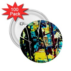 Dance Of Oil Towers 3 2 25  Buttons (100 Pack)