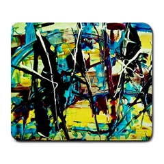 Dance Of Oil Towers 3 Large Mousepads