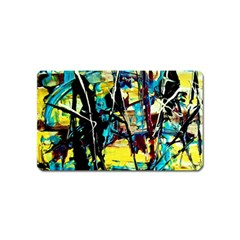 Dance Of Oil Towers 3 Magnet (name Card) by bestdesignintheworld