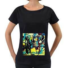 Dance Of Oil Towers 3 Women s Loose Fit T Shirt (black)