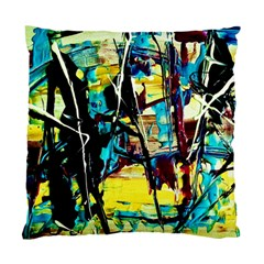 Dance Of Oil Towers 3 Standard Cushion Case (two Sides)