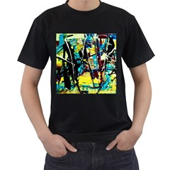 Dance Of Oil Towers 3 Men s T Shirt (black)