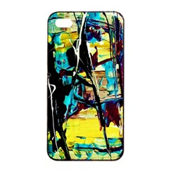Dance Of Oil Towers 3 Apple Iphone 4/4s Seamless Case (black)