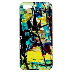 Dance Of Oil Towers 3 Apple Iphone 5 Hardshell Case