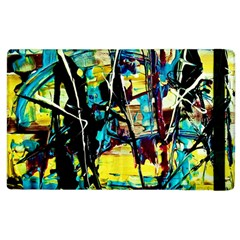 Dance Of Oil Towers 3 Apple Ipad 2 Flip Case