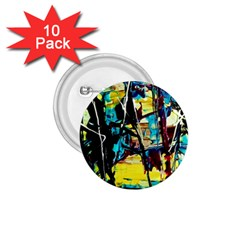 Dance Of Oil Towers 3 1 75  Buttons (10 Pack)