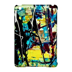 Dance Of Oil Towers 3 Apple Ipad Mini Hardshell Case (compatible With Smart Cover)