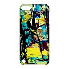 Dance Of Oil Towers 3 Apple Ipod Touch 5 Hardshell Case With Stand