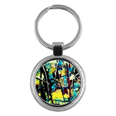 Dance Of Oil Towers 3 Key Chains (round)